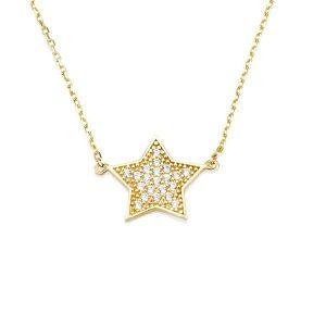 שרשרת Be a star - זהב צהוב 14K