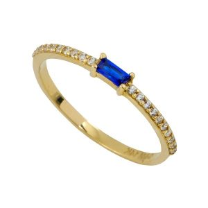טבעת הוליווד רויאל - זהב צהוב