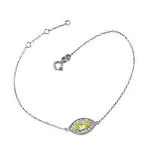 צמיד מיה סאנשיין - זהב לבן 14K
