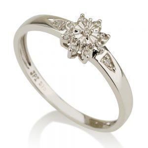 טבעת יהלומים Vintage- כוכב הצפון