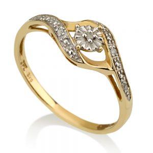 טבעת יהלומים Vintage- אריאל קלאסיק