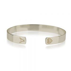 צמיד אסיה קשיח - Silver 925