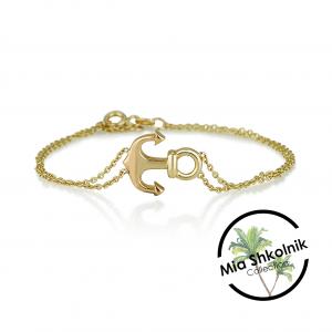 My Anchor Bracelet - 14K