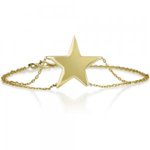 צמיד סטאר - זהב 14K