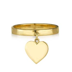 טבעת ספיישל הארט - זהב 14K
