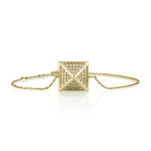 צמיד ניטים - זהב 14K
