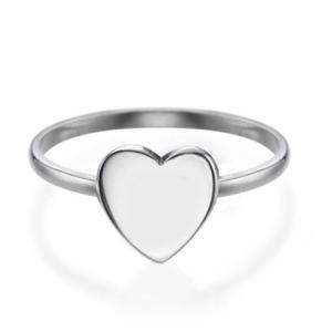טבעת מדיום הארט - זהב 14K