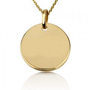 שרשרת מטבע Medium - זהב 14K
