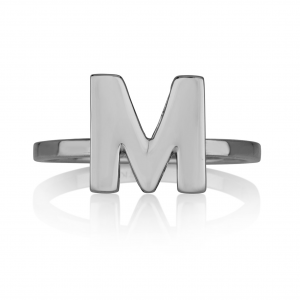 טבעת אות - Silver925