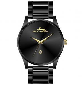 שעון Panthera בלאק גולד