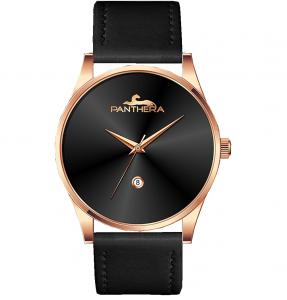 שעון Panthera רוז בלאק