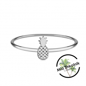 Tiny pineapple Ring – SILVER925