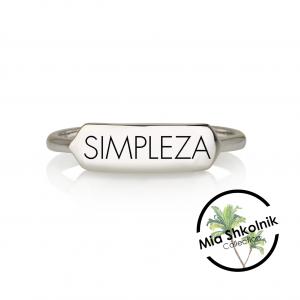 SIMPLEZA Ring - SILVER925