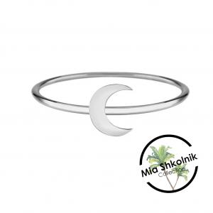 Half Moon Ring – SILVER925