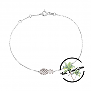 Tiny pineapple Bracelet – SILVER925