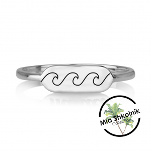 Mia's Wave ring - Silver925