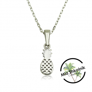 Tiny pineapple Necklace - Silver925