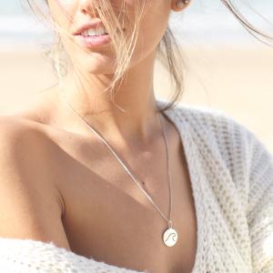 Mia's Wave Necklace - Silver925