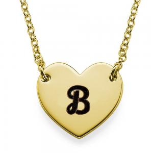 שרשרת Medium Heart - זהב 14K