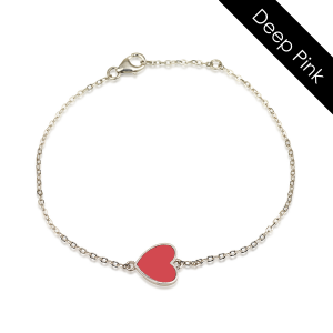 צמיד קולרפול HEART - זהב 14K
