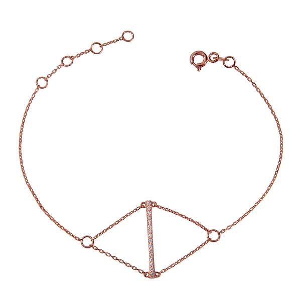 צמיד דארלינג - זהב ורוד 14K