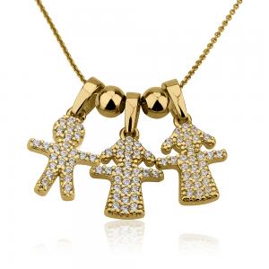 שרשרת אימוש - זהב 14K