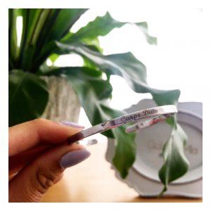 """צמיד קשיח """"לורנס"""" - Silver 925- חריטה במתנה!"""