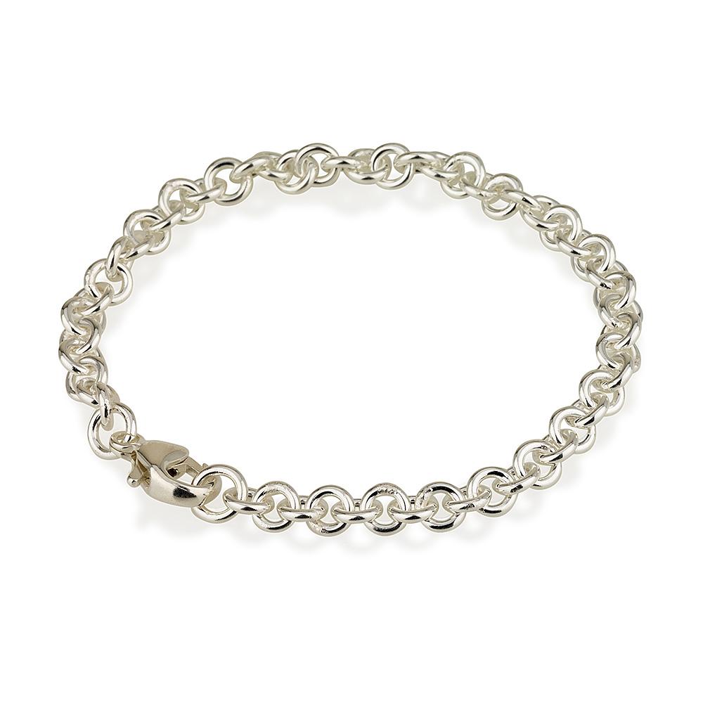 צמיד חוליות מישל בייסיק - Silver 925