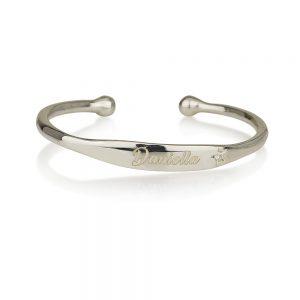 צמיד  קשיח דניאלה- Silver 925