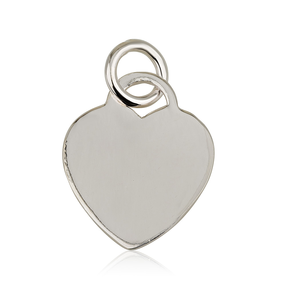 תליון לב פרינסס קטן - Silver 925