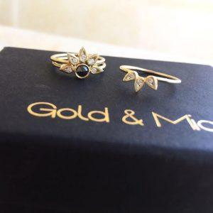 טבעת לוסי - זהב 14K