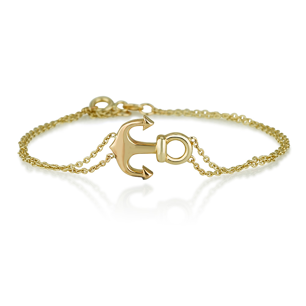 My Anchor Bracelet - 14K