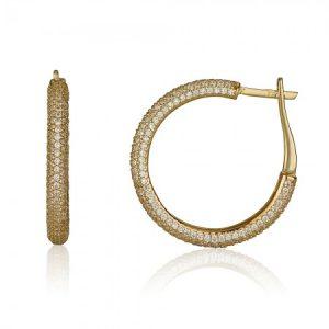 עגילי אמיליה - זהב צהוב 14K