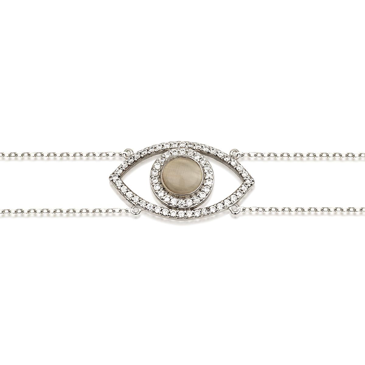 צמיד Special eye - זהב 14K