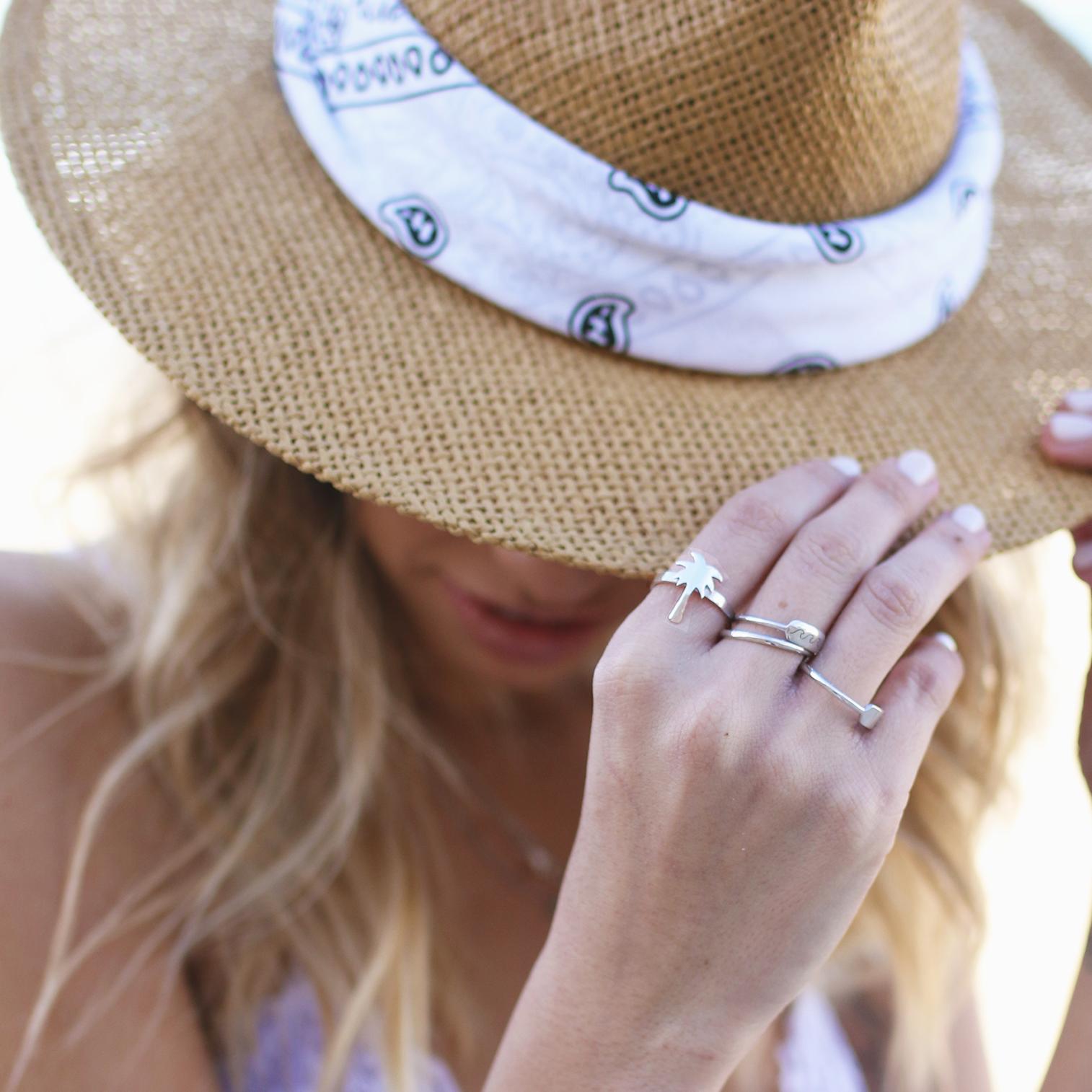 טבעת דקל - זהב 14K