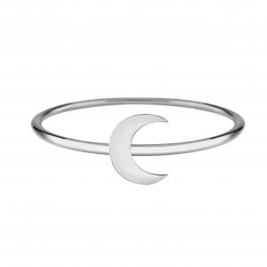 טבעת חצי ירח - Silver925
