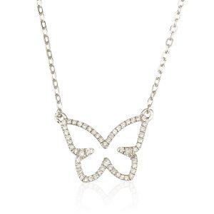שרשרת יהלומים Fly - זהב 14K
