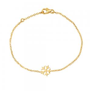 צמיד Snow - זהב 14K