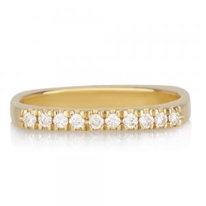 טבעת יהלומים STATEMENT מרובעת