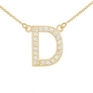 שרשרת יהלומים D - זהב 14K