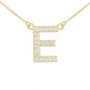 שרשרת יהלומים E - זהב 14K