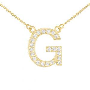 שרשרת יהלומים G - זהב 14K