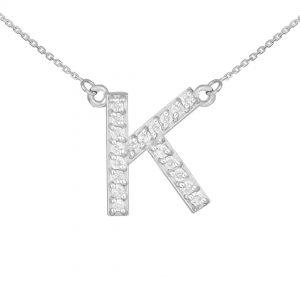 שרשרת יהלומים K - זהב 14K